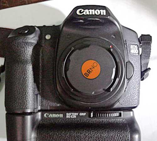 body cap BRNO di Canon EOS 40D