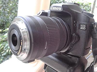 Kamera Lensa dibalik siap pakai