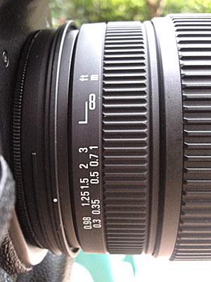 Ring fokus lensa